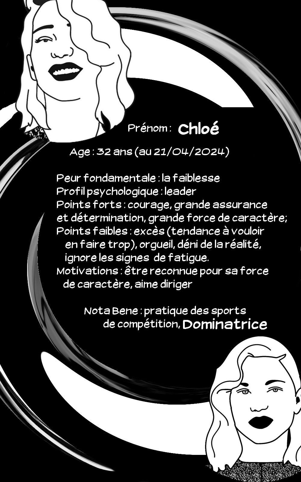 Fiche chloe 2